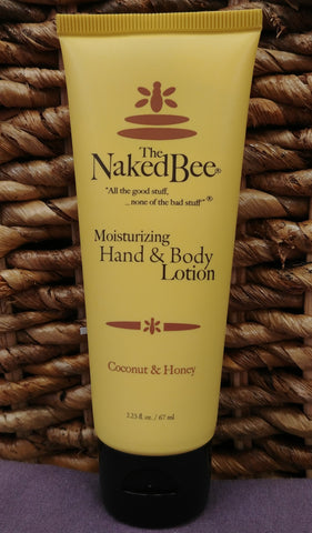 Coconut / Honey Hand Body Lotion 2.25 oz
