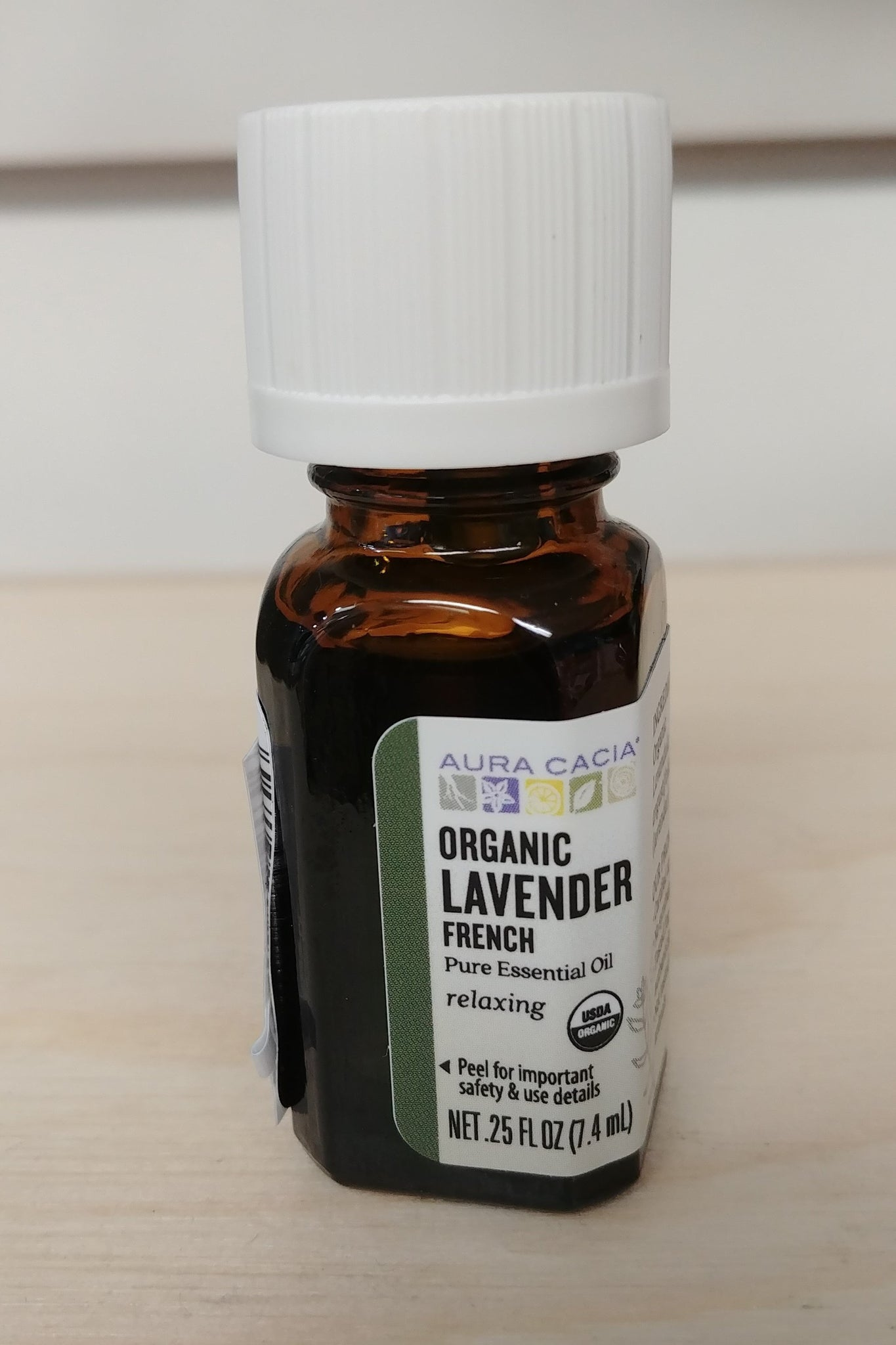 Organic French Lavender .25oz Pure Essential Oil
