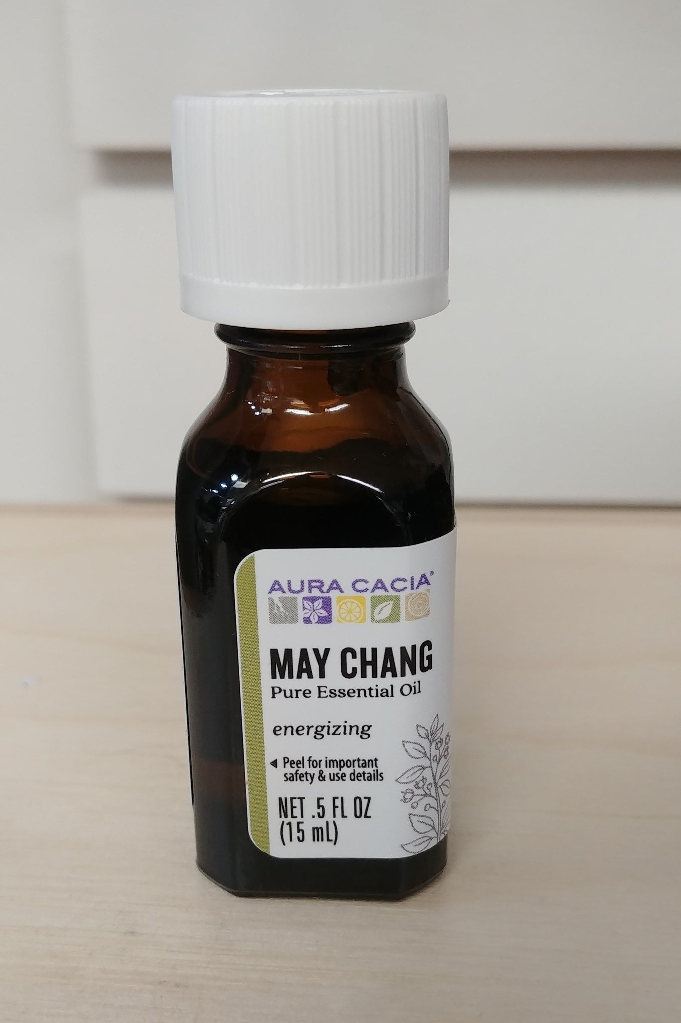May Chang .50 oz Pure Essential Oil
