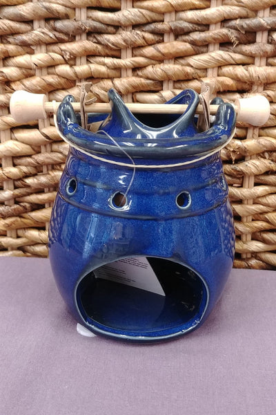 Blue Ceramic Celestial Essential Oil Diffuser