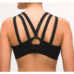 Black Butterfly Backless Top