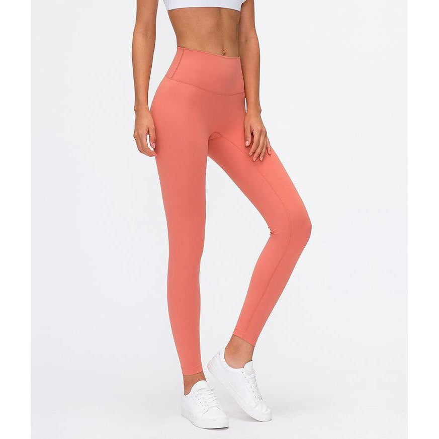 Seamless Max Support Leggings - Salmon