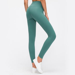 Fashion Forward  21 - SeaGreen Seamless Max Support Leggings