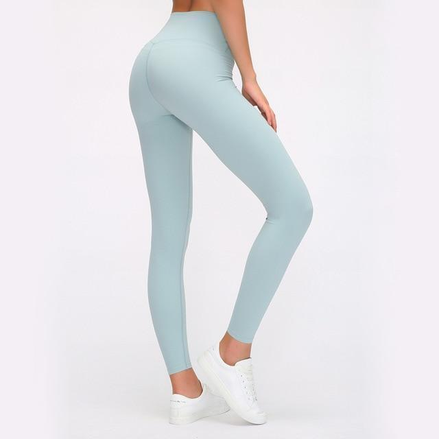 Load image into Gallery viewer, Fashion Forward 21 - Light-Blue Seamless max support leggings