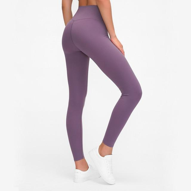 Seamless Max Support Leggings - Storm Purple