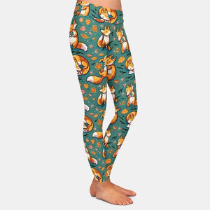 1 Fox Leggings High Waist