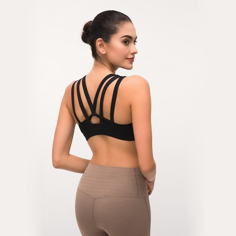 Butterfly Backless Top - Black