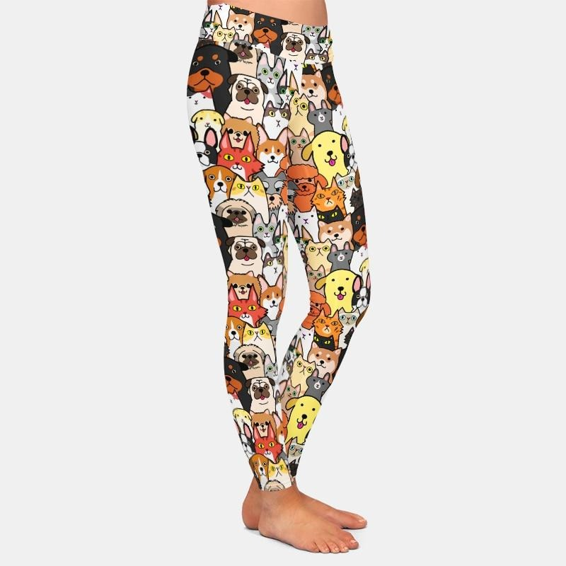 Cartoon pets Leggings