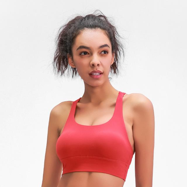 Strappy Seamless Top - Fire Red