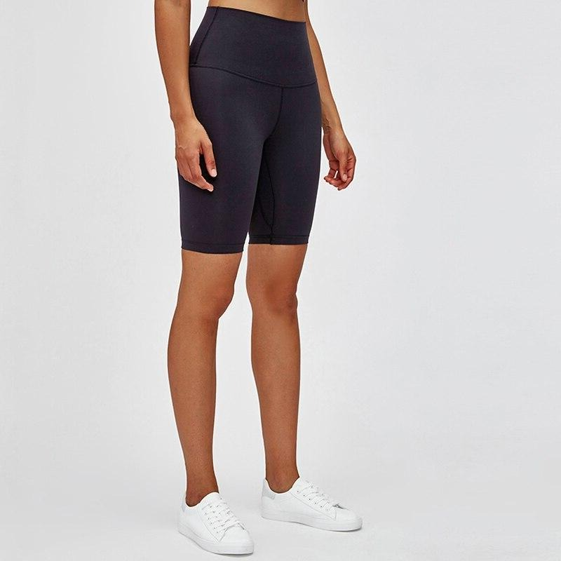 PERFORM High Waist Cycling Shorts - Black