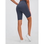 PERFORM High Waist Cycling Shorts - Grey
