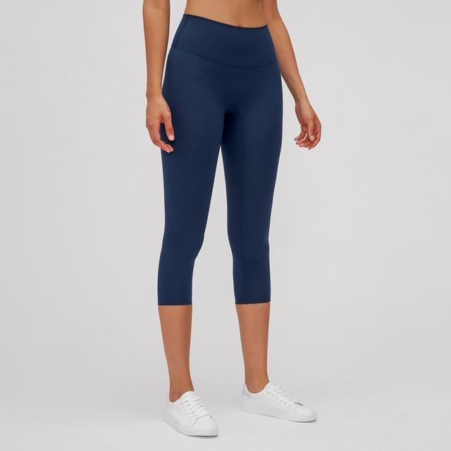 Fashion Forward 21 - MidnightBlue Ankle Seamless Leggings