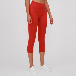 Load image into Gallery viewer, Fashion Forward 21 - Fire Red Ankle Seamless Leggings