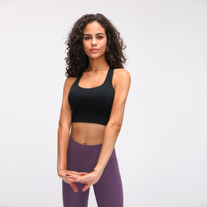 Fashion Forward 21 - Black Anti-sweat Crop Tops