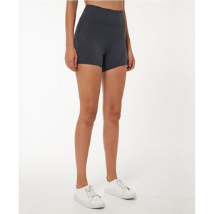 Load image into Gallery viewer, Fashion Forward 21 - Yoga Women's High Waist Pocket Shorts - Grey