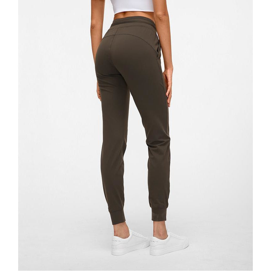 Load image into Gallery viewer, Fashion Forward 21 - Pocket Pro Sweatpants - Brown