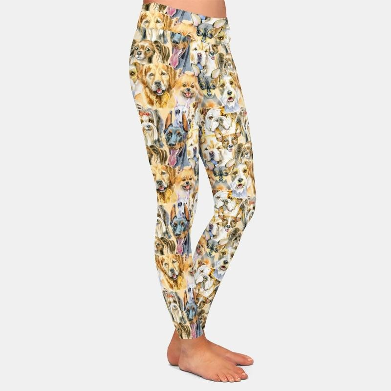 Oil Dog Painting Leggings