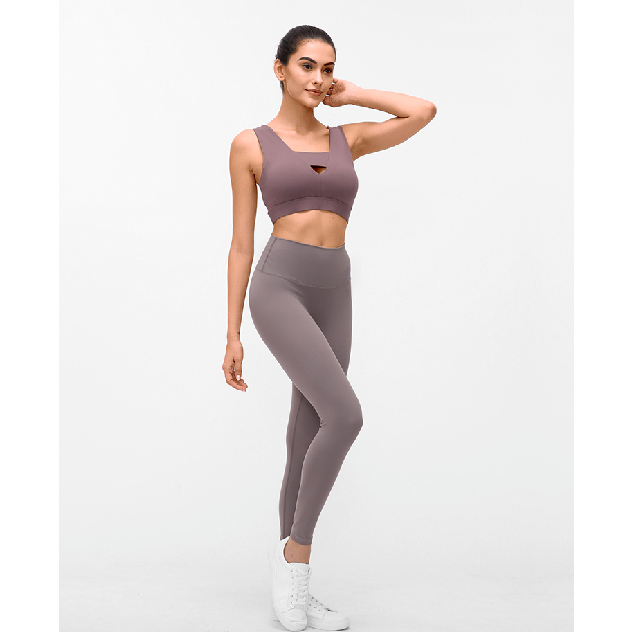 Fashion Forward 21 - RosyBrown Seamless Max Support Leggings