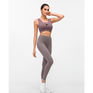 Load image into Gallery viewer, Fashion Forward 21 - RosyBrown Seamless Max Support Leggings