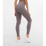 Seamless Max Support Leggings - RosyBrown