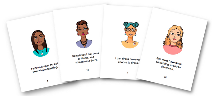 Victim Blaming and Self Blame Flashcards and Resource PRE ORDER