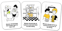 Sexism and Misogyny Flashcards and Resource