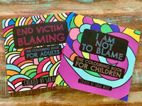 End Victim Blaming Colouring Books Value Pack