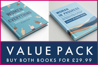 Value Pack - Why Women Are Blamed For Everything and Woman in Progress