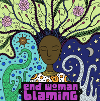 End Victim Blaming - The Adult Colouring Book