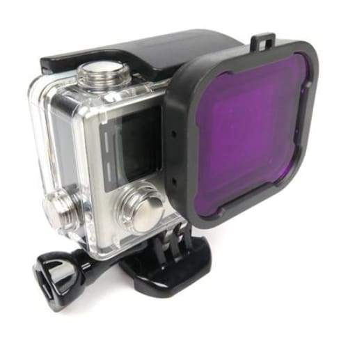 Magenta Dive Filter for GoPro Hero 4 / 3+ - Default