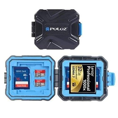 PULUZ Memory Card Storage Carrying Case Holder - Default
