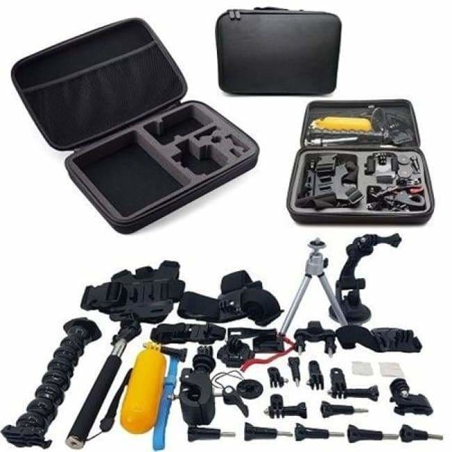 Sale: 55 in 1 Combo Starter Accessory Bundle Kit For GoPro and Action Cameras - Action Camera Accessories