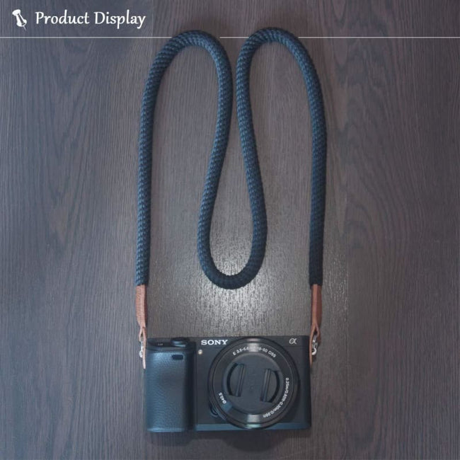Soft Camera Neck Strap for DSLR and other Cameras - Default