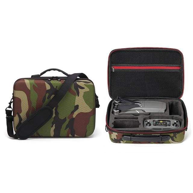 Camouflage Carrying Case for DJI Mavic 2 Zoom / Mavic 2 Pro - Water Resistant Compact Durable and Lightweight - Default