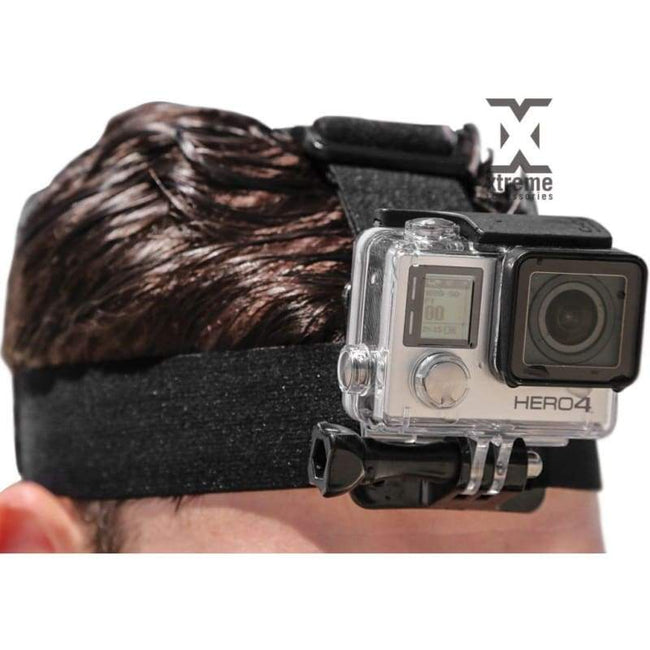 Headstrap Mount for all GoPro and Other Action Cameras - Default