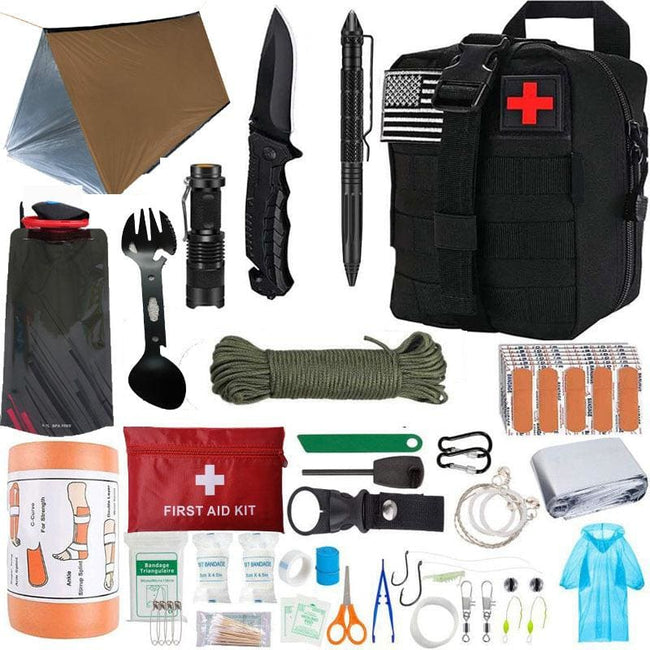Xtreme 39-piece Survival Kit - Survival & Camping Kits