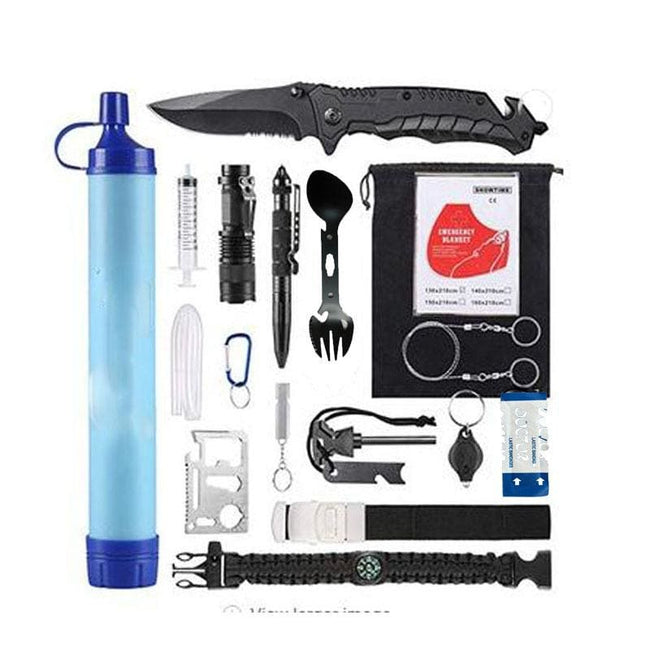 Xtreme 20 Piece Camping/Survival Kit - Survival & Camping Kits