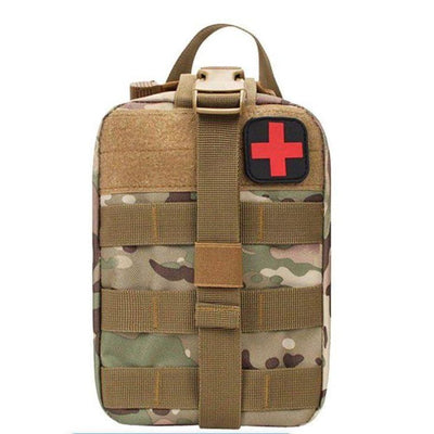 Outdoor Survival Tactical Bag - Camoflage - Survival & Camping Kits
