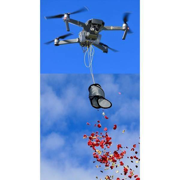 DJI Drone Flower Release System | Flowers from Heaven | Flower Dropper - Default