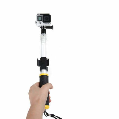 Retractable / Aqua Waterproof X-Pole For Gopro And Other Action Cameras