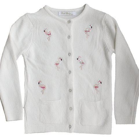 Cardigan Flamingo