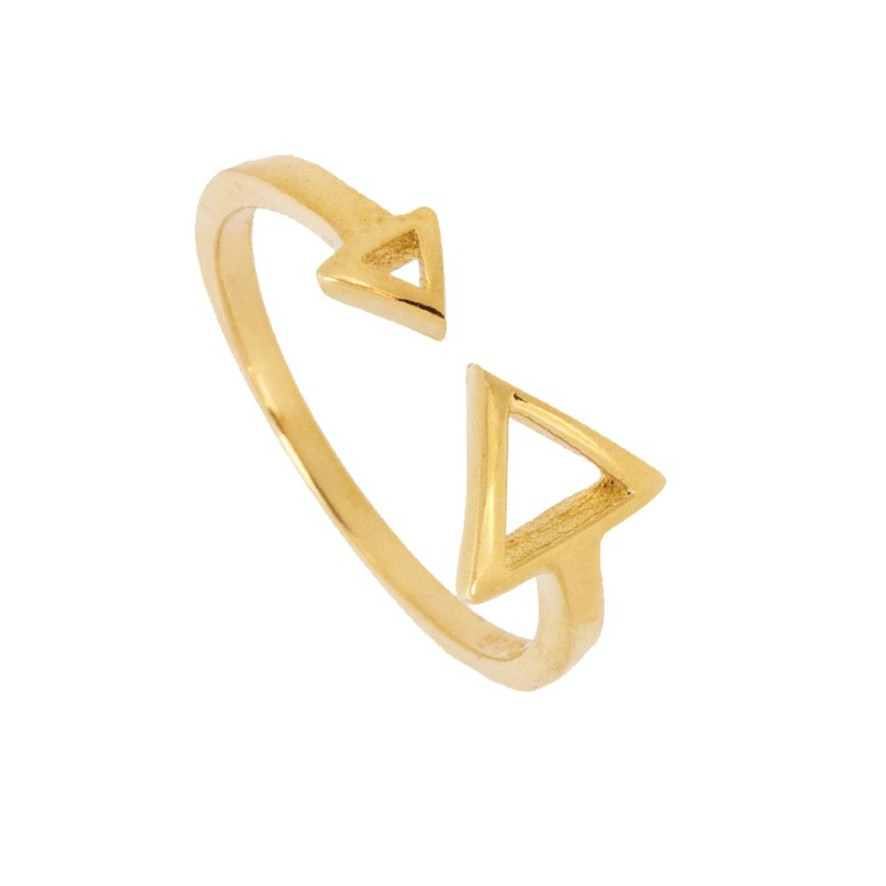 ANILLO TRIANILLO GOLD