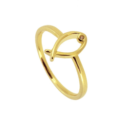 ANILLO FISH GOLD