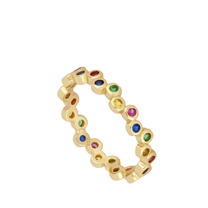 ANILLO ALLIA COLORS GOLD