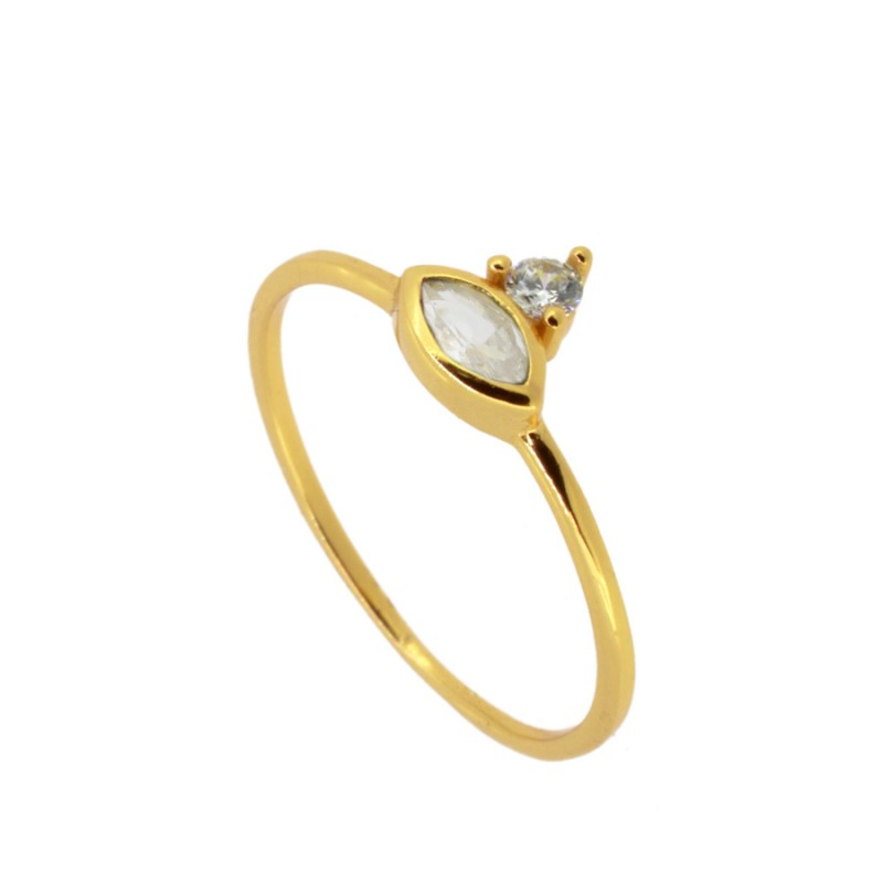 ANILLO TEVISTA WHITE GOLD