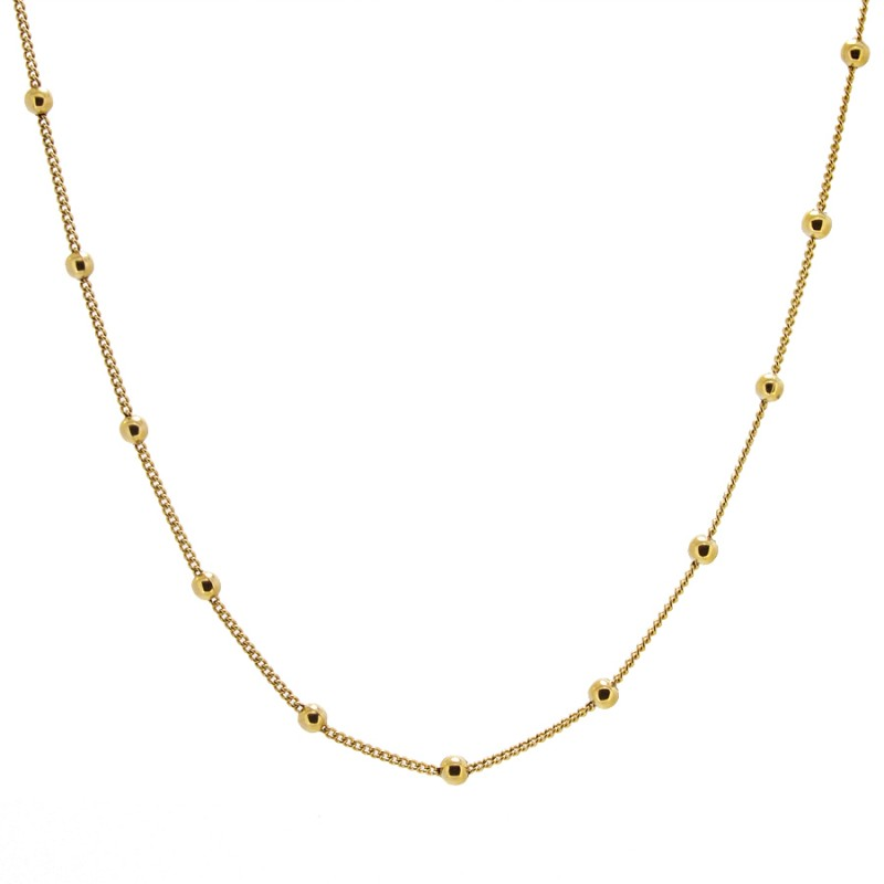 COLLAR SEDALIA MEDIUM GOLD