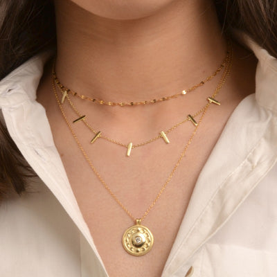 COLLAR LUNA GOLD