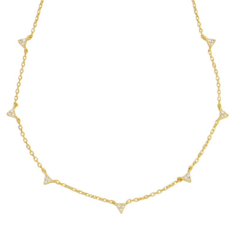 COLLAR HARRISON GOLD