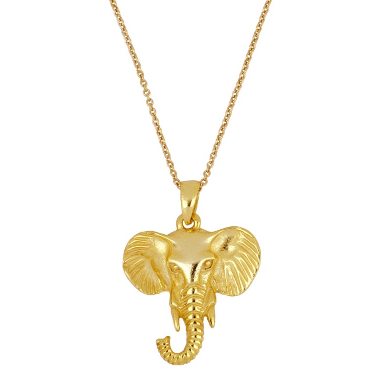 COLLAR ELEPHANT GOLD