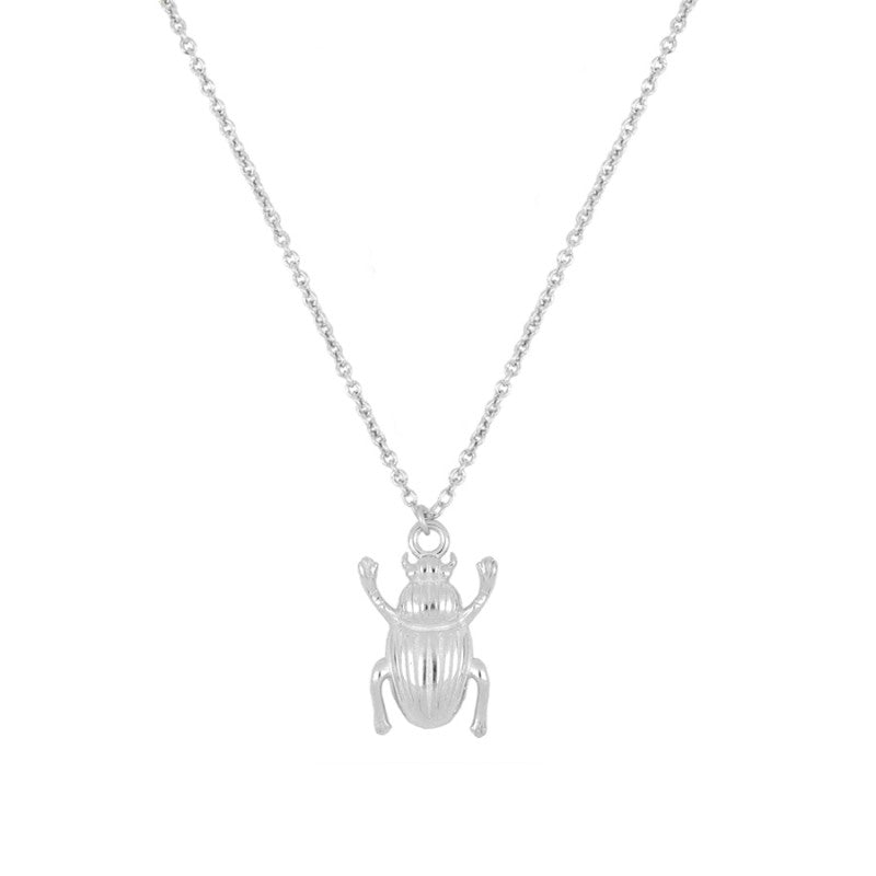 COLLAR BEETLE SILVER